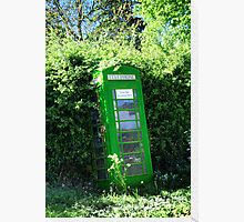 green phone booth