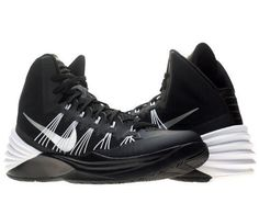 Women 158972: Nike Hyperdunk 2013 Tb Women S Basketball Shoes Nib Black  White 599527 Size