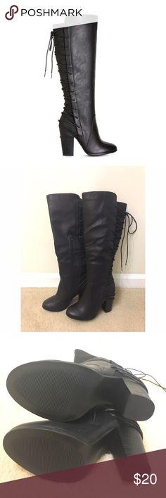 Black boots never used Shoe dazzle Rola Black boots never used 🌟 Shoe Dazzle Shoes Ankle Boots & Booties