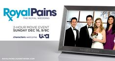 Royal Pains Wedding Contest and Giveaway