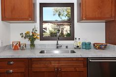 ModOp Design California Spanish Revival Bungalow kitchen.