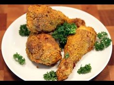 NuWave Oven - Air Fried Chicken With NO FLOUR CLOUD - Heart Healthy - No Oils - YouTube