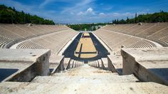 Panathinaiko Olympic stadium in Greece