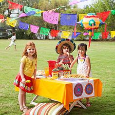 ¡Feliz cumpleaños! Celebrate your child's big day with Mexican-inspired décor, games, crafts, and food.