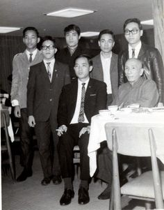 Yip Man & Moy Yat - Wing Chun