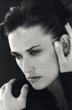 Donna Karan - Demi Moore & Bruce Willis - FW 1996 / Photos PETER LINDBERGH