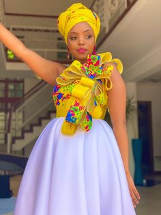Tsonga Traditional Dresses, South African Traditional Dresses, Traditional Wedding Dresses, African Wear Dresses, African Fashion Ankara, Latest African Fashion Dresses, Pedi Traditional Attire, Traditional Outfits, African Wedding Attire