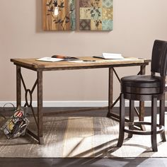 Escritorio de oficina de madera escritorio de madera