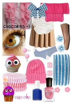 """Carl The Cupcake (Human FNAF Girls)"" by thefnaftheorists ❤ Freddy Costume, Fnaf Costume, Fnaf Cosplay, Casual Cosplay, Cosplay Outfits, Cosplay Ideas, Costume Ideas, Fnaf Jumpscares, Cupcake Costume"