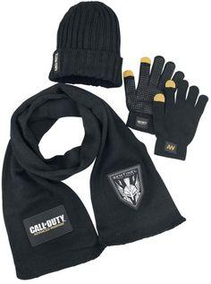 Call of Duty Advanced Warfare - Winter Kit (Inc. Beanie, Scarf & Gloves)  Manufacturer: Gaya Entertainment Barcode:  617885008849 Enarxis Code: 013536 #toys #scarf #gloves #beanie #COD #videogames