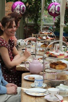Lots of yummy Afternoon Tea
