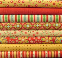Half Yard Bundle of the Delighted Collection by SistersandQuilters, $35.80