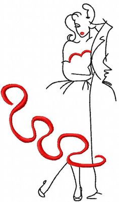 Together forever free embroidery design