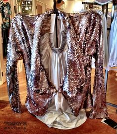 Today's Boutique  www.todaysdestin.com  Sass up a tank or a little black dress with this sequined ditty that we swoon over!