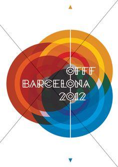 OFFF BARCELONA 2012 Graphic Design Print, Graphic Design Branding, Graphic Design Illustration, Logo Design, Music Festival Logos, Communication Design, Brochures, Postcards, Identity