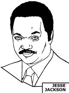 black history coloring pages jesse jackson and oprah winfrey