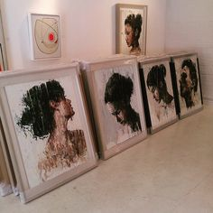 Stacks of brand new Melegari's just in #newarrivals #paintings #oilpaint #figurative
