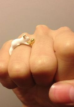 LOVELY SQUIRREL RING