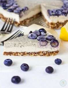 Earl Grey Lemon Cheesecake – Vegan, Gluten-free   Raw