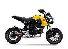 Honda Grom 125 2016 - Yellow