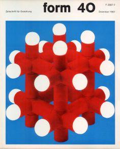 form N° 40. Dec 1967. Cover: Karl Oskar Blase. © Verlag form GmbH & Co. KG