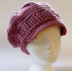 Ravelry: DarleenHopkins' Winter Tracks Hat pattern by Sarah Jane. Charity crochet chemo hat for Halos of Hope #halosofhope