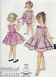 pink girl dresses by Millie Motts, via Flickr