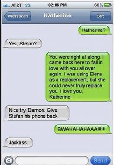 VAMPIRE DIARIES TEXT lol