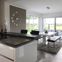 Schlichte Eleganz Küchen Design, Life Is Beautiful, Dining Bench, Sweet Home, New Homes, Kitchen Inspiration, House, Home Decor, Furniture