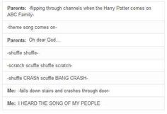 The song of my people! - Harry potter - abc family
