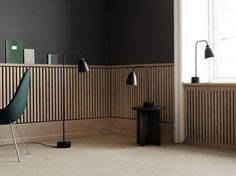 Buy Caravaggio Read Table Lamp Black by Cecilie Manz and more online today at The Conran Shop, the home of classic and contemporary design. Caravaggio, Casa Top, Interior Architecture, Interior Design, Interior Cladding, Black Table Lamps, Wainscoting, Wall Treatments, Wall Design