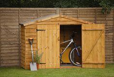Timber Bike Store | Forest Garden