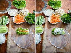 How to Make Spring Rolls   Fresh Vietnamese Summer Rolls