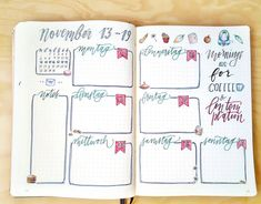 """52 mentions J'aime, 2 commentaires - BIRSEN (@thebulletbulb) sur Instagram: """"My new weekly spread. I tried to not use a ruler this time and draw all the lines freehanded.…"""""""