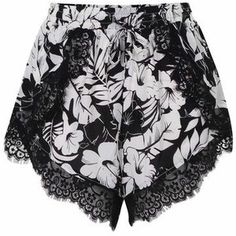 Robyn Monochrome Lace Shorts Boho Shorts, Lace Shorts, Monochrome, Luxury Fashion, Swimwear, Shopping, Collection, Design, Bathing Suits