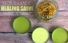 I use a natural healing salve for everything from diaper rash and sunburn to dry skin and chapped lips. Make a simple, safe healing salve that works great.