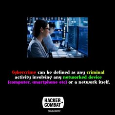 Cybercrime can be defined as any criminal activity involving any networked device (computer, smartphone etc) or a network itself, Read More. What Is Cybercrime, Facebook Store, Private Network, Trade Secret, Busy At Work, Identity Theft, Web Application, Denial, Vulnerability