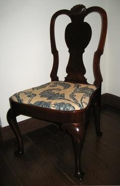 Side Chair, 1735-1750.  Unknown maker; Boston.  (1952.0140)