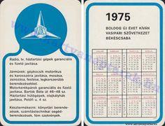 1975 - 1975_0763 - Régi magyar kártyanaptárak