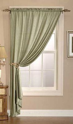 How to choose curtains and drapes for your home.