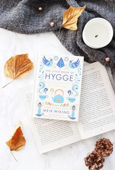 Embracing Hygge - time for a re-read of this one! Fall Inspiration, Flat Lay Inspiration, Little Books, Good Books, Books To Read, Flat Lay Photography, Book Photography, Book Flatlay, Hygge Book