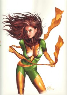 """at the publisher will be doing some sort of relaunch (possibly called """"Marvel Now"""") which won't effect continuity, but will take many titles back to #1 with new costumes and creative teams for many of their characters. However, the return of Jean Grey might be the most surprising change yet! Check out the image below (which also appears to fea"""