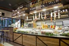 Магазин-ресторан Bonhomía Salumería deli & restaurant