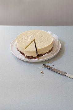 Een recept voor heerlijk zoete vegan cheesecake met pompoen