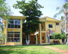 Samara Spanish Language School on the beach in Costa Rica