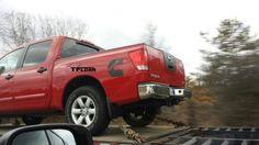 Photo of the Day: 2015 Nissan Titan Cummins test mule - The Fast Lane Truck 2015 Nissan Titan, Diesel Trucks, 4x4, Monster Trucks, Bike, Vehicles, Wheels, Track