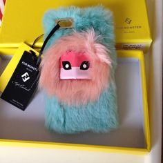 Fendi Iphone 6 Case Fur Monster