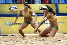 Blog Esportivo do Suíço:  Duplas olímpicas estão nas quartas de final da chave feminina em Goiânia