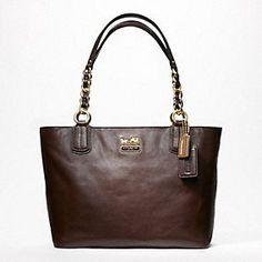 I have been looking for something to buy myself as a graduation gift & I am hoping I can save up enough money for this.  Coach Chelsea Leather Tote