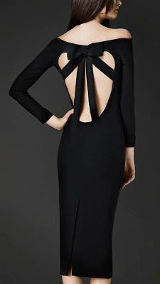Cut-Out Back | Burberry. #FashionSerendipity #Fashion #Style Fashion and Style